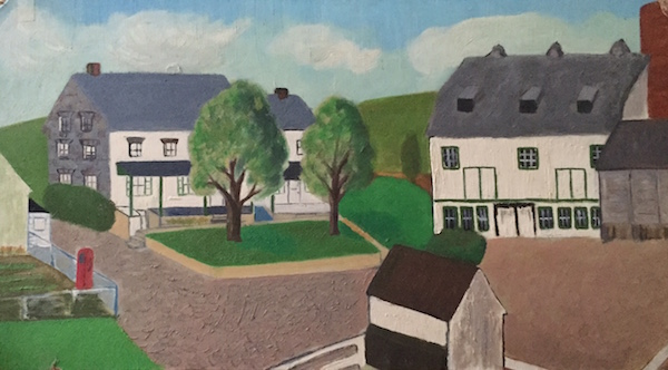 The Home Place. Painted perhaps 1963.