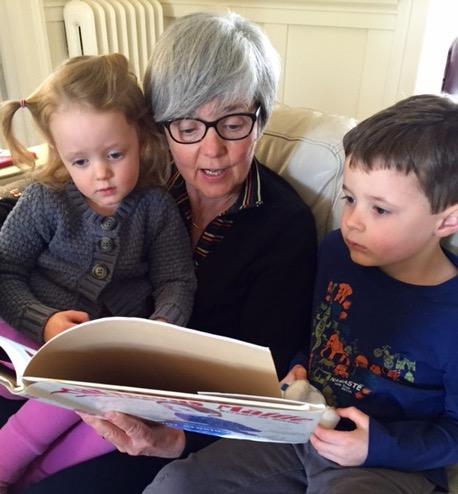 Reading to Owen and Julia: a calling consistent with all my other work in life.