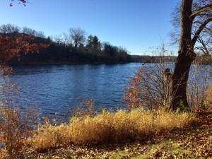 The still waters of Stumpf Lake.