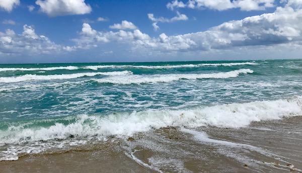 The beautiful Atlantic Ocean.