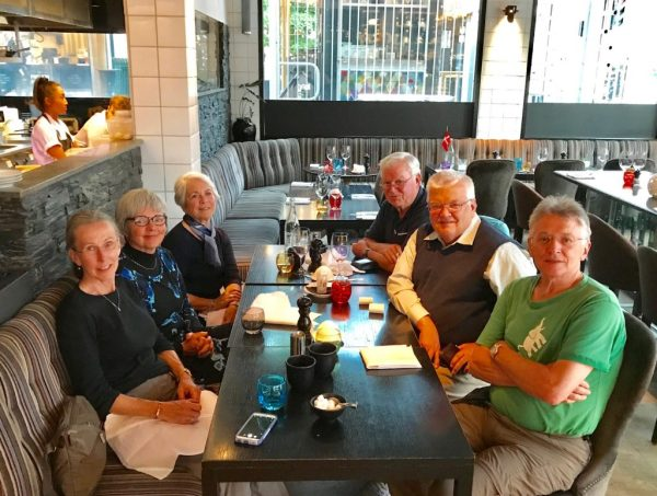 Nordic Cruise group: Marty, Shirley, Sadie, Harley, Stuart, Hollis