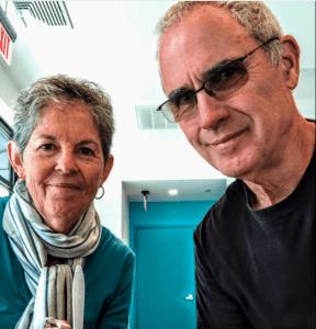 Jack and Gloria Rutt, our next-door neighbors.