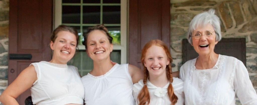 Kate, Joyous, Anna Mary, Shirley. Photographer: Lydia!