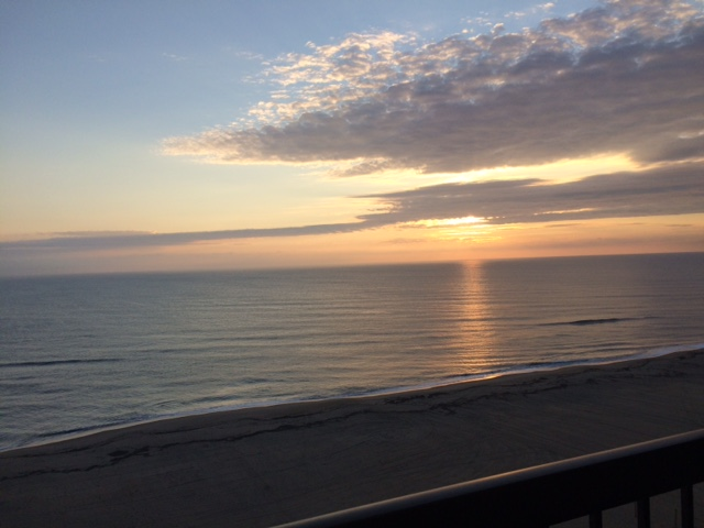 Sunrise on Virginia Beach