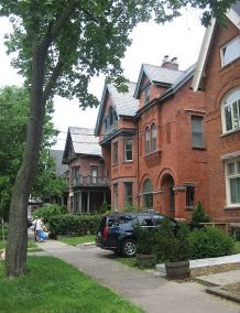 """A group of classic """"Annex Style"""" houses"""