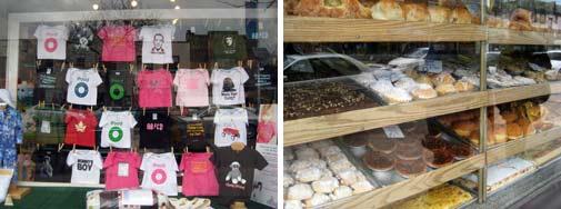 Shops in Bloor West
