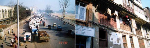 尼泊尔的街景