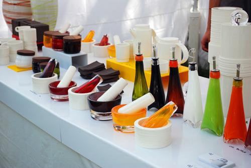 AJ's Glass & Ceramic wares  - Toronto Outdoor Art Festival (2009)