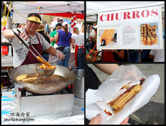 Churros at Salsa on St Clair Street Festival 2009