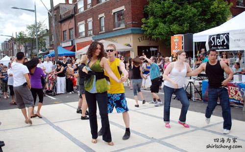 Salsa on St Clair Festival 2009
