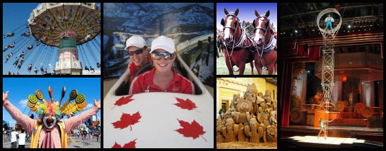 Various shows/activities at the Canadian National Exhibition, 2009