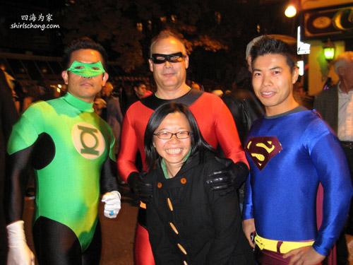 Heros, Halloween Street Party, Toronto