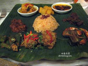 Nyonya Platter at Nam Restaurant, Bonton, Langkawi, Malaysia
