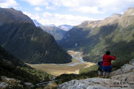我和Ed在纽西兰自驾和徒步游一个月 (Routeburn Track, New Zealand)