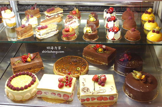 Cakes & desserts at Fous Desserts, Montreal