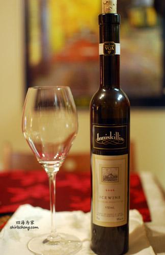 Ice Wine at Christmas Dinner