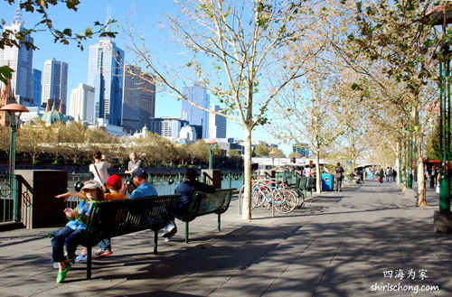 South Bank,Melbourne,Australia