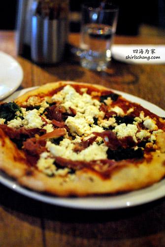 Pizza at Frangos & Frangos/ Koukla, Daylesford, VIC, Australia