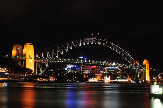 Sydney Opera House Night Shot
