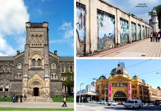 my three homes - Toronto, Melbourne & Kuala Lumpuer