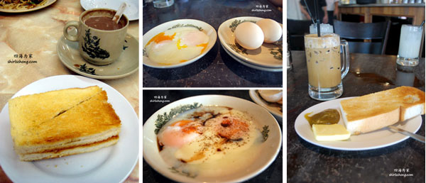 Kaya 面包和生熟蛋早餐 - 去马来西亚旅行吃什么?30 种必尝大马特色美食 (30 Must Eats in Malaysia )