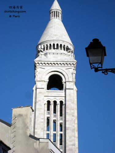 巴黎圣心堂 (Basilique du Sacré-Cœur, Montmartre, Paris)