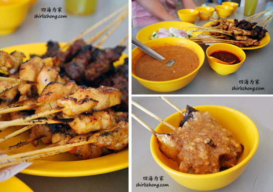 沙爹 - 30种必尝大马美食 (Satay - 30 Must Eat Malaysian Food)