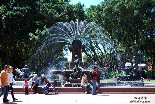 悉尼公园 Hyde Park, Sydney