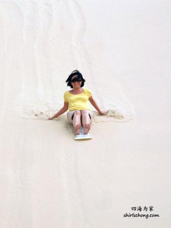 Port Stephens - Sand Boarding