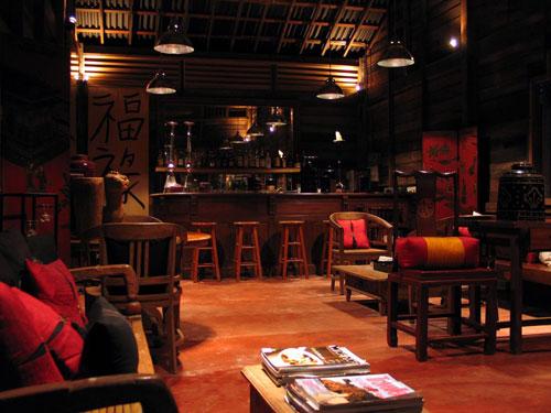 古色古香的 Chin Chin 酒吧 (Bonton Resort, Langkawi, Malaysia)