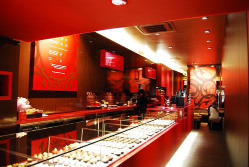 Ghermez Cupcakes at George St, Sydney