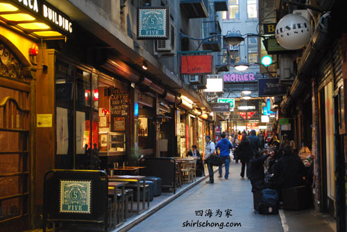 Central Place --  墨尔本旅游秘密地图 Melbourne Hidden Gems Travel Map