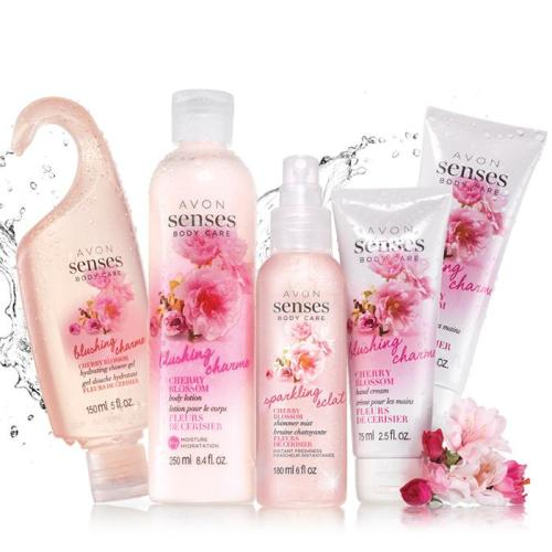Avon Senses Cherry Blossom Collection