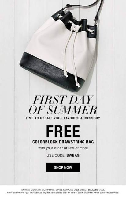 Free Bag from Avon