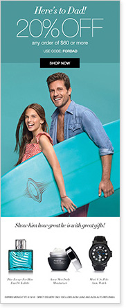Avon Father's Day Special