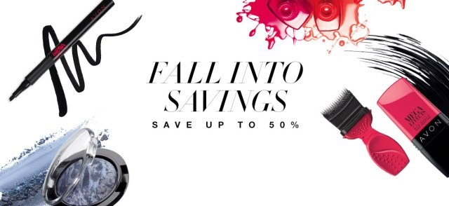 Avon Fall Into Savings