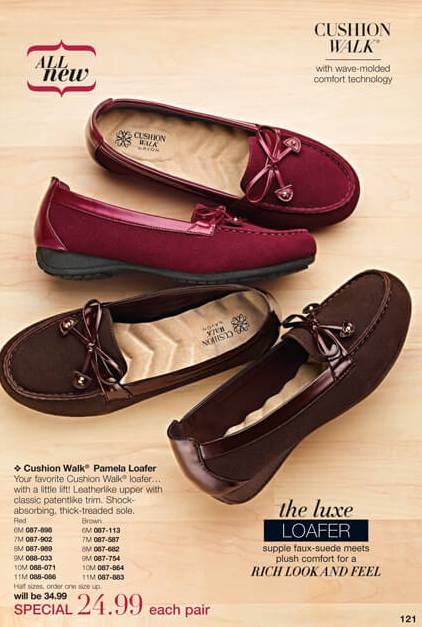 All New Cushion Walk Pamela Loafer