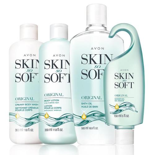 Free 4 Piece Skin So Soft Original Set