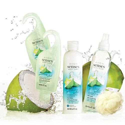 Senses Sparkling Starfruit & Coconut Collection