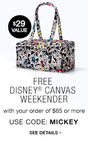 FREE Disney Canvas Weekender