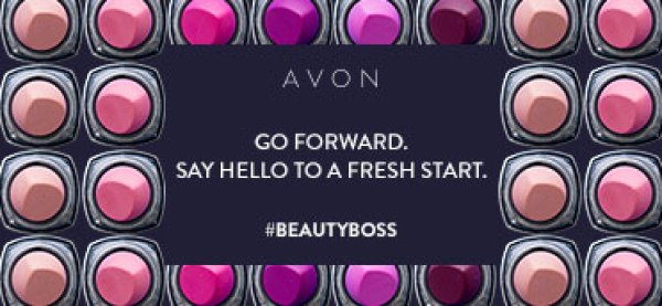Start the New Year as an Avon Beauty Boss