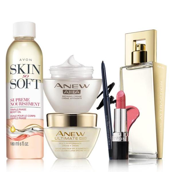 Avon Spring Luxury Beauty Collection
