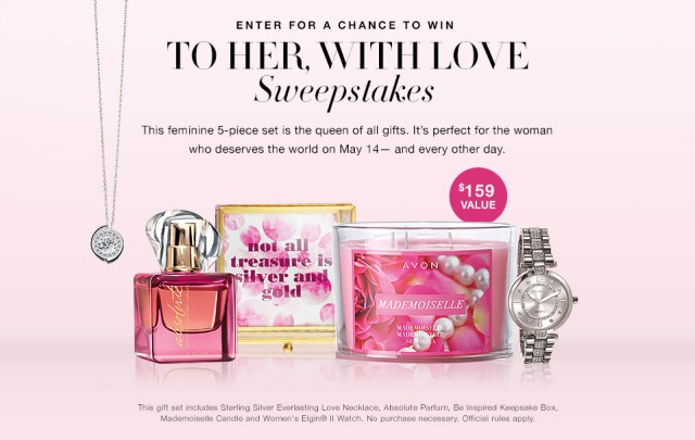 Avon To Her With Love Sweepstakes