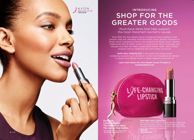 Avon Campaign 21 Shop for the Greater Goods