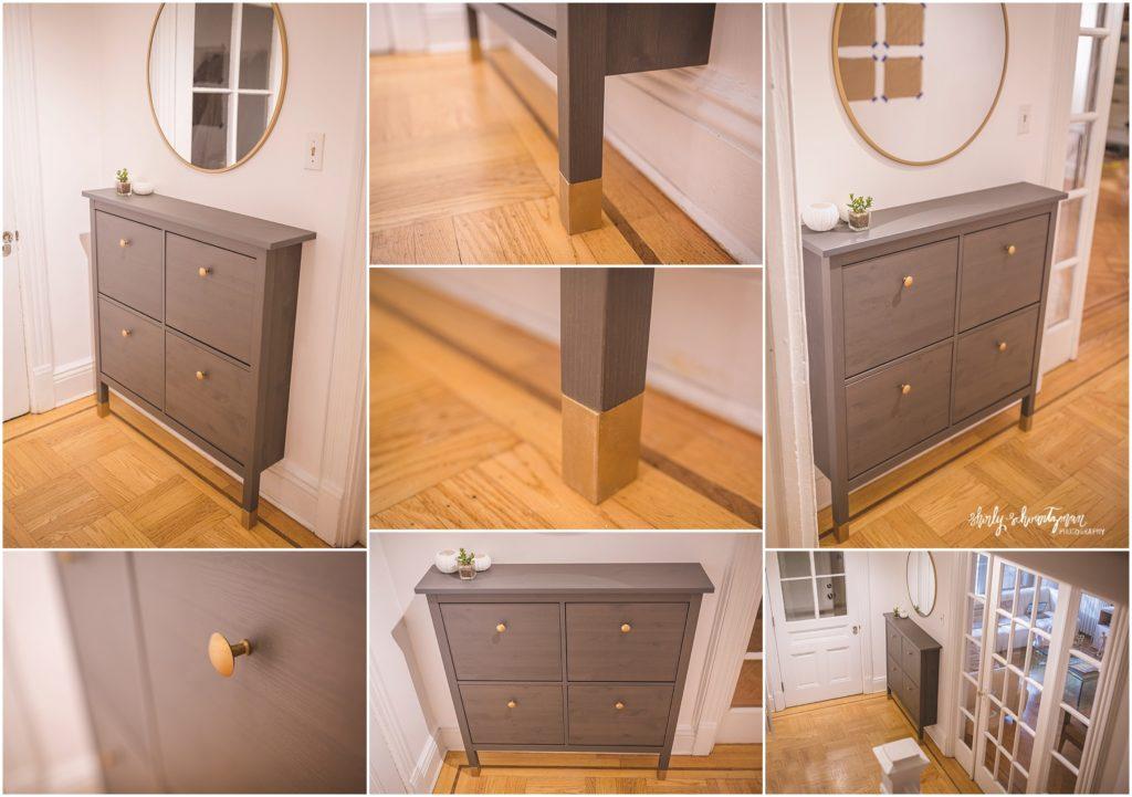 Ikea Hack Hemnes Shoe Cabinet Storage For Tall Baseboards