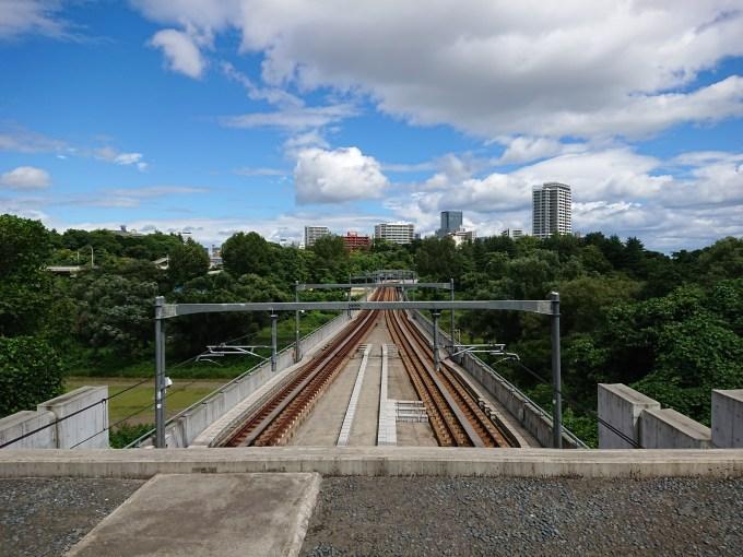 地下鉄南北線の線路