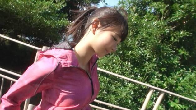 【動画あり】はるか 21歳 フリーター ジョギングナンパ 05 in お台場 ナンパTV 200GANA-1229 シロウトTV (2)