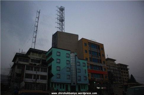 HIgh towers on building, Baneshwor
