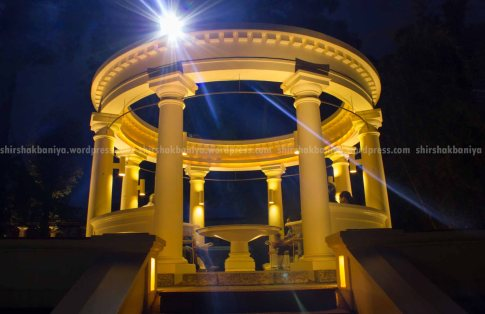 The rotunda : Influence of greek columns and orders are more here.