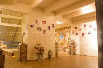 Art installation inside Gallery space